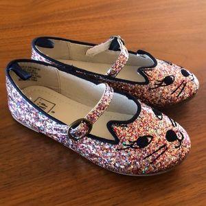 GAP Shoes - Baby Gap Multi glitter ballet flat w/strap
